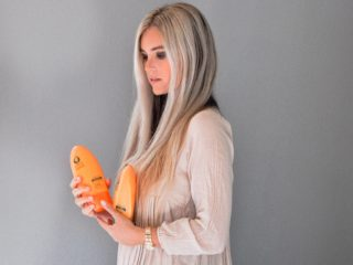 Stephany Bowman Editor of Stephany's Choice, with ULTIMATE MOROCCAN ARGAN OIL hair care system